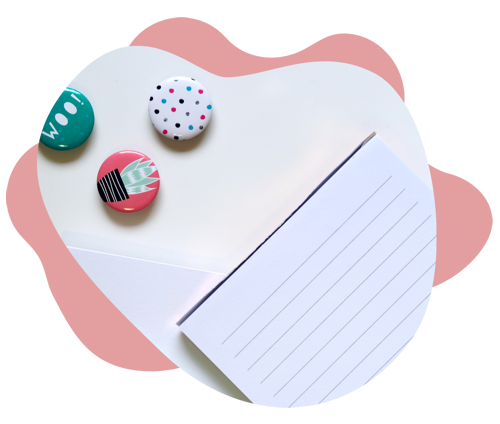 Paper and buttons