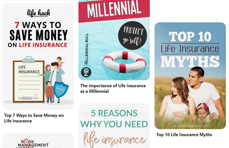 Pinterest Life Insurance