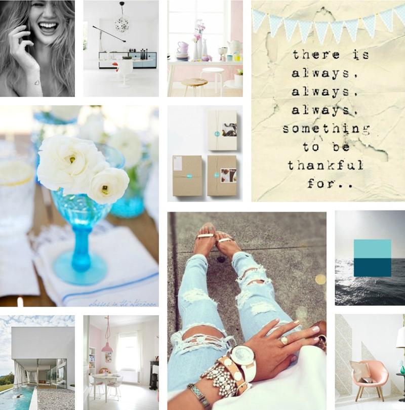 Pinterest Mood Board