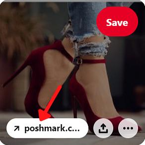 Pinterest product link