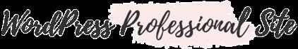 WordPress Professional Site
